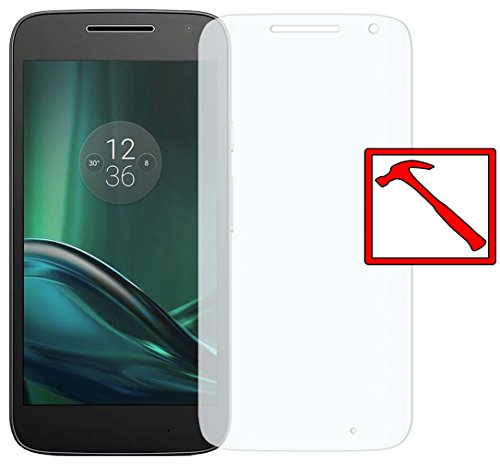 Slabo Premium Panzerglasfolie für Lenovo Moto G4 Play Echtglas Bildschirmschutzfolie Schutzfolie Folie Tempered Glass KLAR - 9H Hartglas