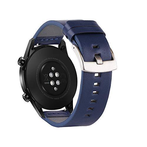 Fesjoy - Correa de repuesto para reloj inteligente con cierre de hebilla, compatible con Huawei Watch GT 2 46 mm/Honor MagicWatch 2 46 mm