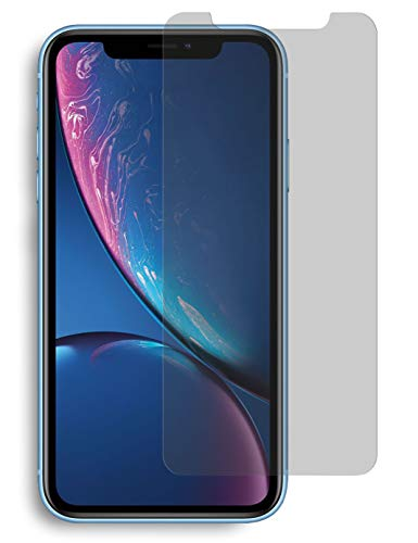 MyGadget Blickschutz Folie für Apple iPhone XR / 11 - Anti Spy Panzerglas Display Schutzfolie 9H Glasfolie - Abgerundete Full Screen Privacy Protector