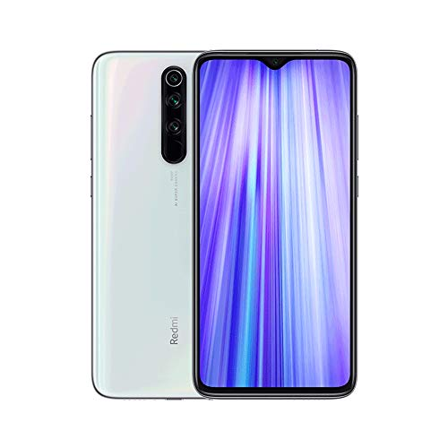 "Xiaomi Redmi Note 8 Pro Phone 6GB RAM + 64 GB ROM, 6.53""Full Screen, Helio G90T Octa-Core MTK CPU, 20MP Front e 64MP AI Four Mobile Camera Camera Posteriore Versione Globale (Bianco)"