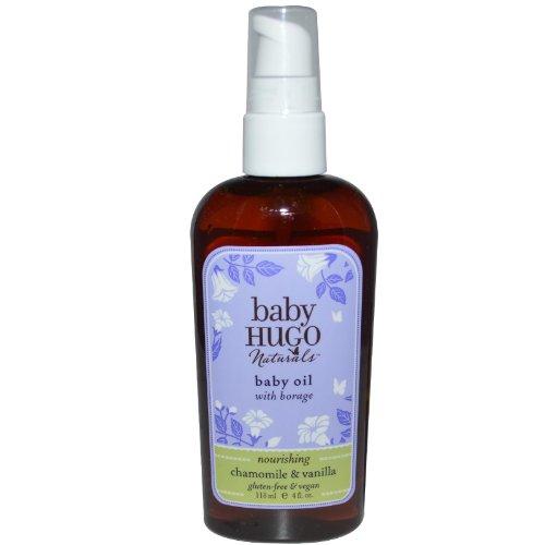Hugo Naturals - Baby Hugo Baby Oil With Borage Nourishing Chamomile & Vanilla - 4 oz.