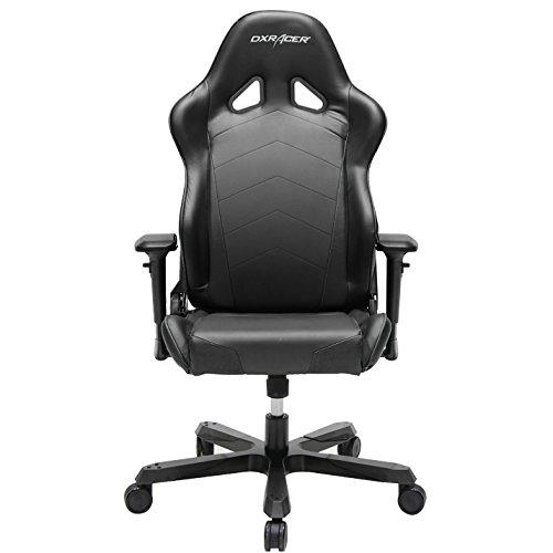 DXRacer OH/TS29/N Tank Series Black Gaming Chair – Includes 2 Free Cushions