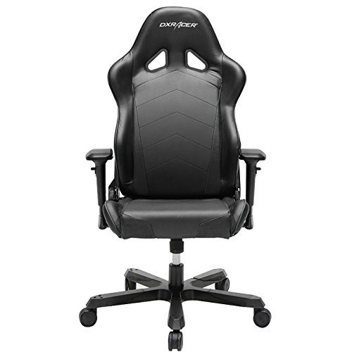 DXRacer OH/TS29/N Tank Series Black Gaming Chair - Includes 2 Free Cushions