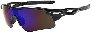 MANW Lunettes de soleil pour hommes lunettes de cyclisme cyclisme sports lunettes de plein air lunettes de soleil-M