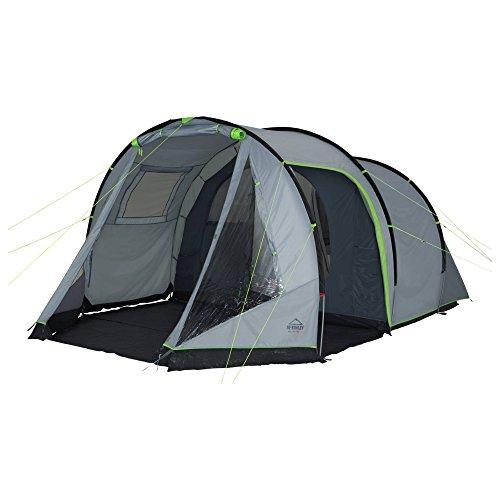McKinley Camping-Zelt Alpha 5 (Farbe: grau/grün)