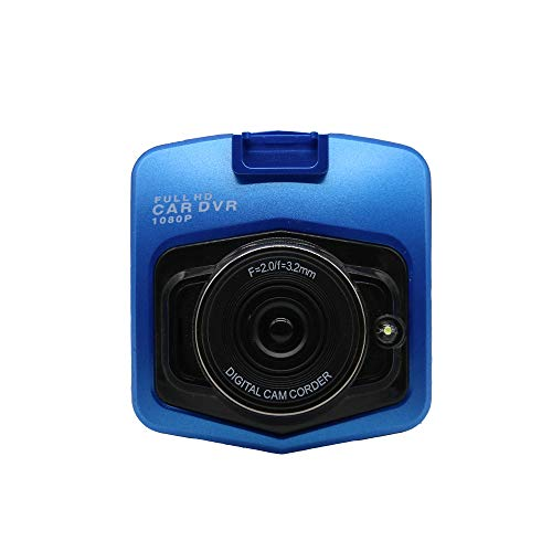WGFGXQ Dashcams para Coches Delanteros Y Traseros, Cámaras De Salpicadero con Pantalla HD De 2,4' Gran Angular 1080P HD G-Sensor Detección De Movimiento Grabación En Bucle