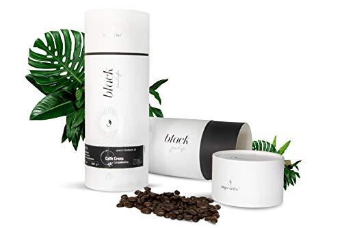 Neu Black Pearl – Café Crema, ganze Bohnen, 60% Arabica 40% Robusta, geröstet, 250g, Premium Caffee, Barista-Qualität aus italien