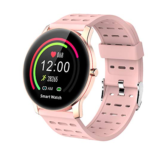 LEKOO Fitness Tracker - Activity Tracker with Step Counter - Waterproof SmartWatch with Heart Rate Monitor - Fit Watch Sleep Monitor Step Counter for Android & iPhone
