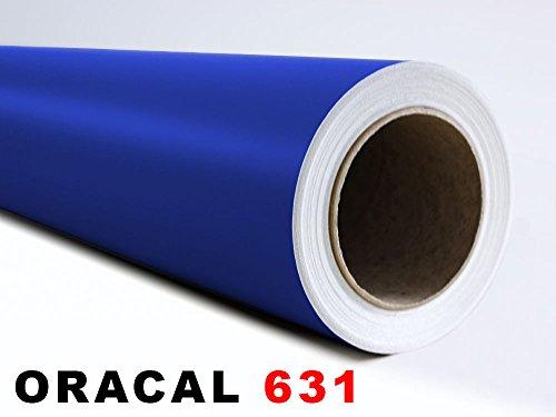 GRAZDesign Oracal 631 zelfklevende folie – mat – geschikt voor meubels en om te ploten afmetingen 5 m x 63 cm in 049 koningsblauw
