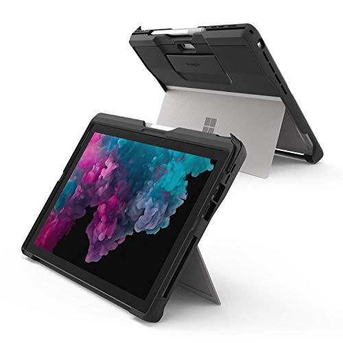 Kensington Surface Pro 7 Schutzhülle - BlackBelt Schutzhülle speziell für das Surface Pro 7, 6, 5, und 4, Tablethülle mit Fallschutz, K97951WW