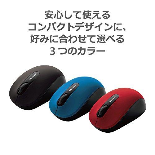 マイクロソフトマウスBluetooth対応/ワイヤレス/小型ブラックBluetoothMobileMouse3600PN7-00007
