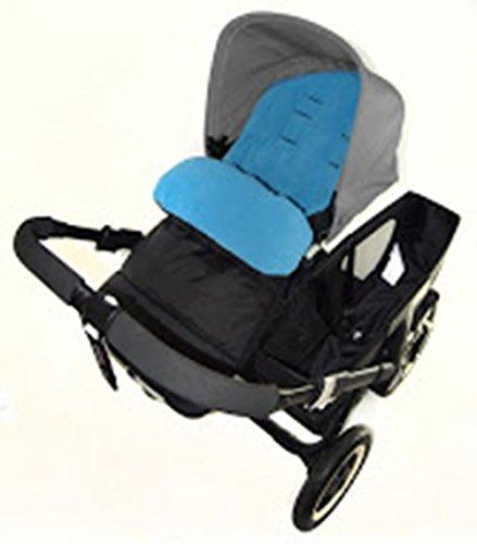 Fußsack/COSY TOES kompatibel mit Bebecar Stylo Kinderwagen Ocean Blau