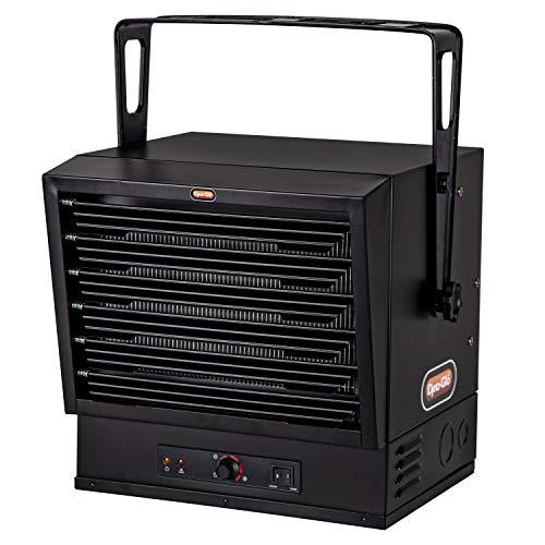 Dyna-Glo EG10000DGP 240V 10,000W Garage Heater, Black
