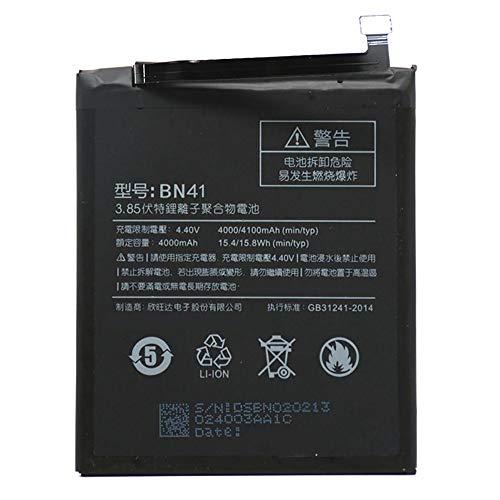 Ellenne Batería Compatible con Xiaomi Mi Redmi Note 4 BN41 Alta Capacidad 4100 mAh con Kit de desmontaje Incluido
