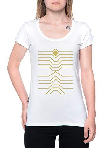 Hawks Bnha Camiseta Mujer Blanco T-Shirt Women's White