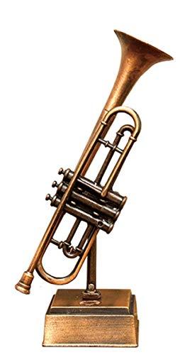 アンティーク シャープナー 鉛筆削り オブジェ ミニチュア 楽器 (トランペット)