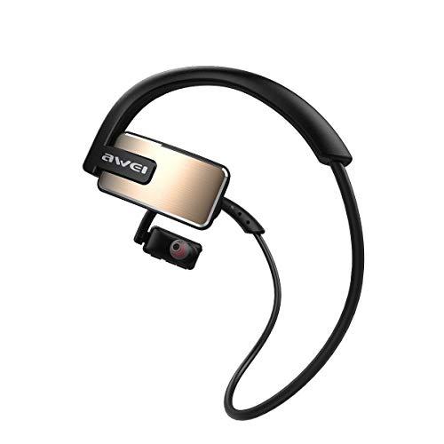 OPAKY kabelloser Kopfhörer IPX4 wasserdichter Kopfhörer für Sport im Freien,für iPhone, iPad, Samsung, Huawei,Tablet usw.