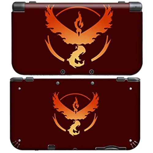 POKEMON TEAM VALOR for New Nintendo 3DS XL Skin Vinyl Decal Stickers (New 2ds Xl Vs New 3ds Xl)