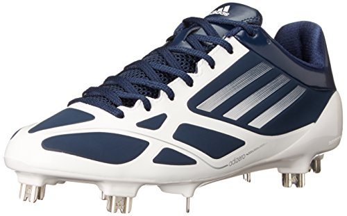 adidas Performance Men's Adizero 5-Tool 2.0 Baseball Cleat, Collegiate Navy/Metallic Silver/Running White, 7 M US