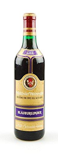 Wein 1972 Südtiroler Pino Nero Blauburgunder Weinprobe