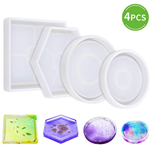 DIY Coaster Silicone Mold Pack