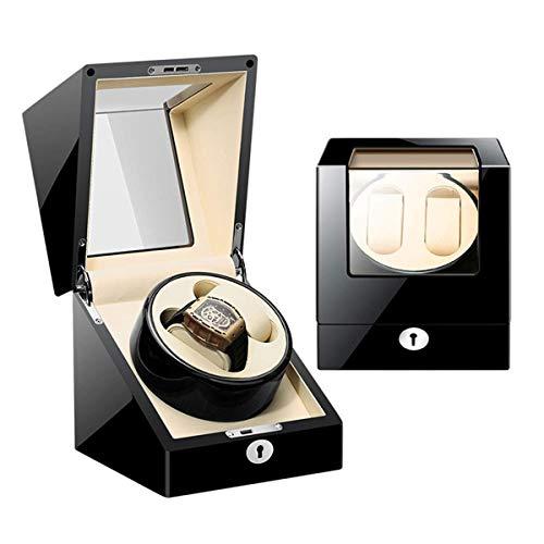 WXDP Enrollador de Reloj automático,Caja enrolladora de automática Motor Deslizante y 5 Modos de rotación Caja de Almacenamiento de Motor silencioso Adapta