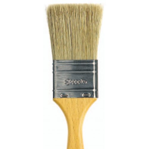 Escoda Natural 8247 Oil and Acrylic Natural Chungking Bristle Paint Brush Varnish Double Thickness Size 21