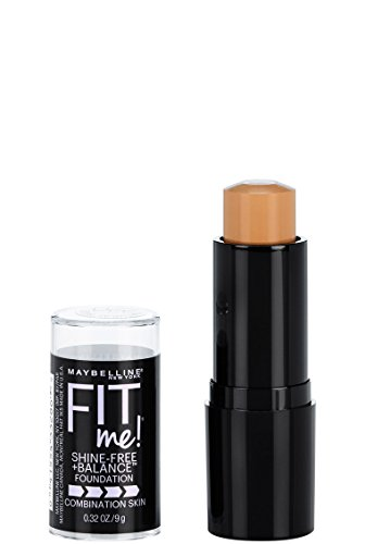 Maybelline New York Fit Me Shine-Free + Balance Stick Foundation, Natural Beige, 0.32 oz.