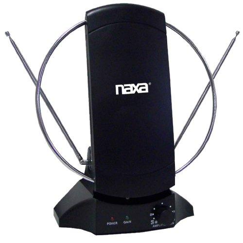 naxa outdoor tv antennas NAXA Electronics NAA-308 High Powered Amplified Antenna Suitable for HDTV and ATSC Digital Television
