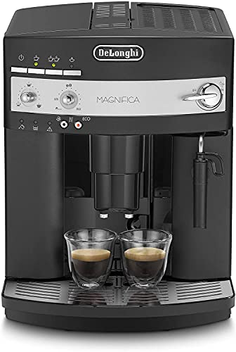 De'Longhi Perfetto ESAM3000 Macchina da Caffè Automatica, 1450 W, 2 Cups, 15 Bar, Plastica, Nero, 37.5 x 28.5 x 36 cm