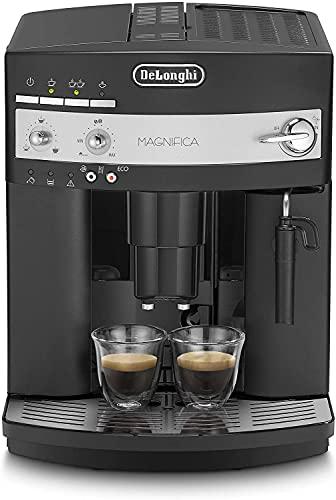 De'Longhi ESAM3000 Macchina da caffè Automatica, 1450 W, 2 Cups, Plastica, Nero + Finiture in Silver