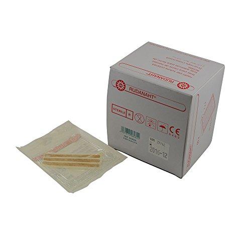 Noba RUDANAHT® Wundnahtstreifen, Nahtpflaster, steril, 25x100mm 10x4 St