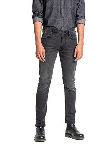 Lee Luke Medium Stretch Jeans, Gris (Moto Grey Hga), 38W / 32L para Hombre