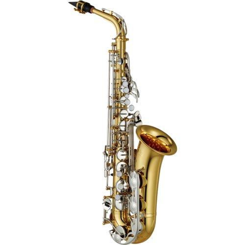 Yamaha YAS26 Saxofón Alto estándar llaves niqueladas