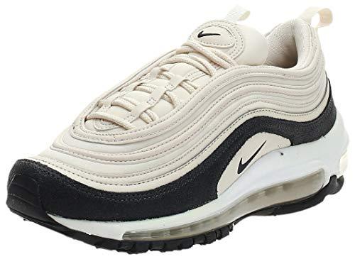 Nike Scarpe da Donna Sneakers W Air Max 97 Prm in Tessuto Beige 917646-202