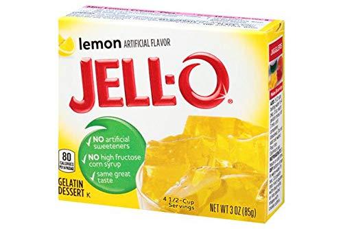 Jell-O Gelatine Dessert Lemon (Zitrone) 85 gr.