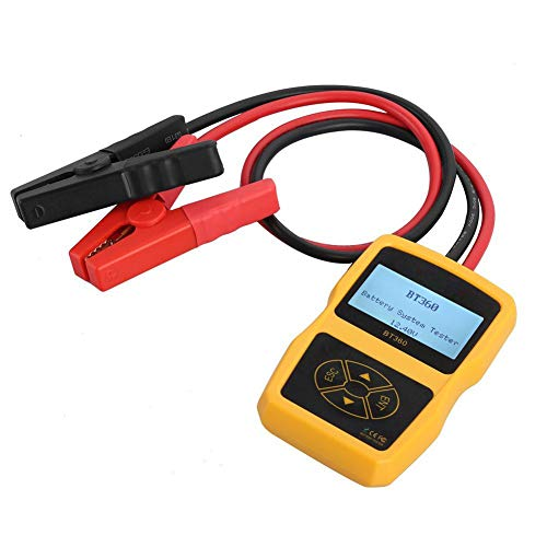 Review Upgraded 12V Automative Battery Load Tester CCA 100-2400 Bad Cell Test for Regular Flooded Au...