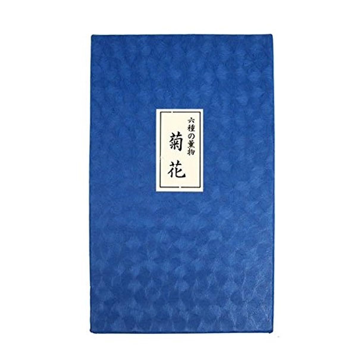 より平らな写真を描く宗教的な六種の薫物 菊花 貝入畳紙包 紙箱入