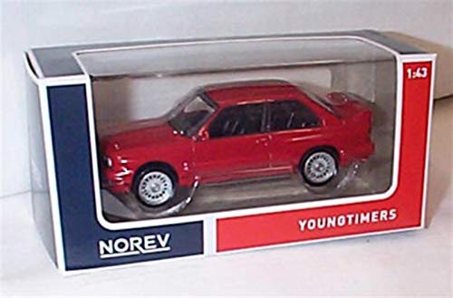 Used, Norev B.M.W M3 E30 1986-91 red hard top car 1:43 scale for sale  Delivered anywhere in UK