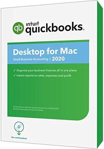 Intuit QuickBooks Desktop for Mac 2020 Disc Download product image