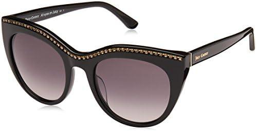 Juicy Couture Women s JU595 S Cat Eye Sunglasses Black 51 mm product image