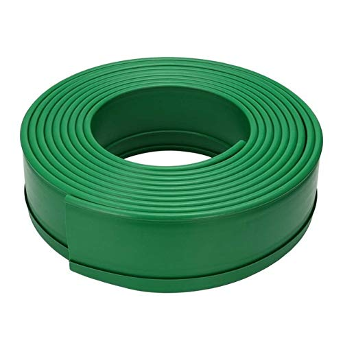 hengxiang 10m Grass Edging Fence Belt Border Plastic Garden Lawn Stone Isolation Path Barrier Horticulture Garden Patio Greening Belt (color : 15cm Width)