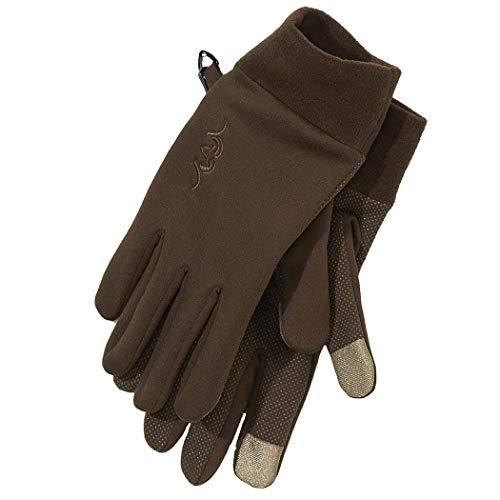 Blaser Touch Handschuhe - Jagdhandschuhe mit Touchscreen Finger - Leichte dehnbare Fingerhandschuhe mit griffiger Handinnenfläche - Winterhandschuhe aus Fleece, Größe:XXL