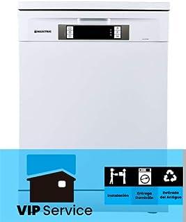 LAVAVAJILLAS MILECTRIC LPA (A+++, Ancho 60cm, Display LED, Tercera Bandeja, Control Electronico) (Blanco, con INSTALACION)