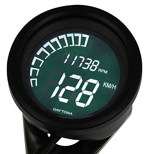 DAYTONA VELONA Motorcycle Speedometer and Tachometer 250MPH / 20,000RPM (Black) (79716)