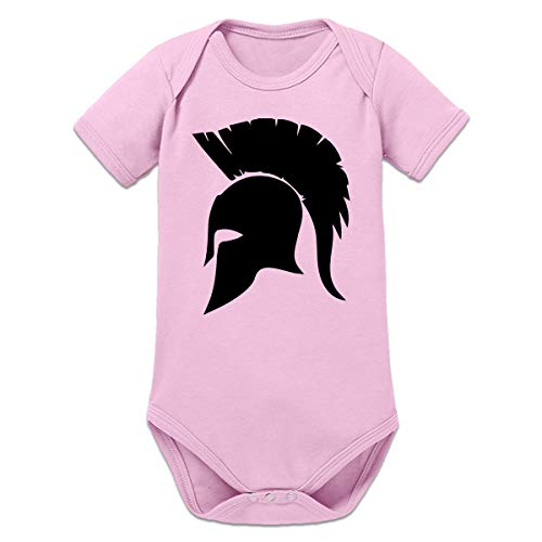 Shirtcity Spartan Helmet Baby Strampler by