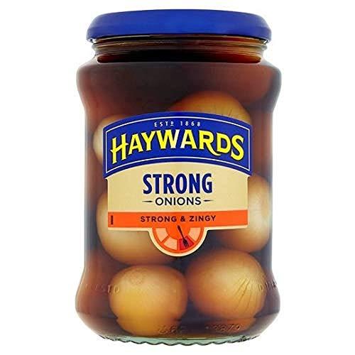 Haywards Strong Onions 454g - eingelegte Zwiebeln