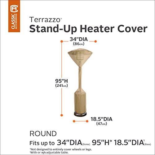 Classic Accessories 53112-EC Terrazzo Heizpilz-Abdeckung - 2
