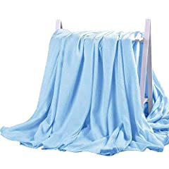 Cooling Blanket: Cold to the touch bamboo fabric features high specific heat capacity which will keep you cool through the night. With the cooling feel of the bamboo blanket, you will fall asleep faster and stay asleep longer. Blankets of other mater...