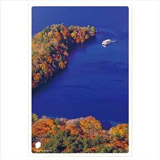 いろは出版 日本の絶景ポストカード 秋 半月山展望台/栃木県